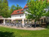 Hotel Insel Mühle - Terrasse