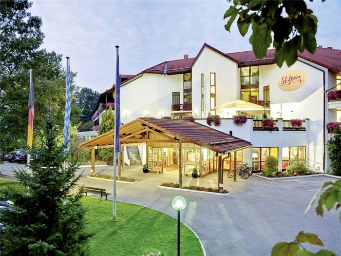 Hotel St. Georg Bad Aibling - Hotelansicht