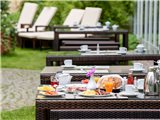 Mercure Hotel Berlin City - Terrasse